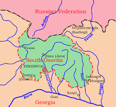 south ossetia map south ossetia s independence opendemocracy