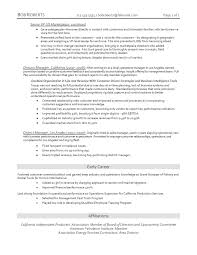 industry resume resume for your job application