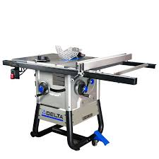 cabinet table saw for sale shop delta 13 amp 10 in carbide tipped table saw at lowes