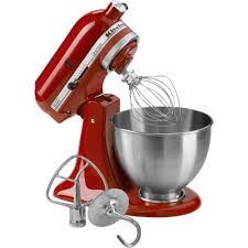 Kitchen Stand Mixer by Kitchenaid Ksm95er 4 5 Quart Ultra Power Empire Stand Mixer Red