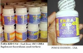 Minyak Ikan Tara Kid jual tara kid fish minyak ikan omega 3 dha cod liver di