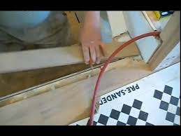 installing hardwood on stairs how to install the stair