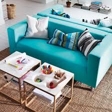 canapé turquoise ikea salon notre sélection de 18 canapés colorés canon canapé klippan