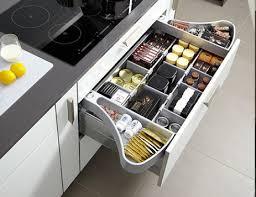 cuisine tiroir les rangements de tiroir