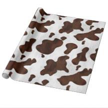 cow wrapping paper cow wrapping paper zazzle