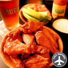 gourmet food delivery make the play by adding duff s wings to your march