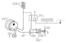 oil pressure warning light wiring diagram diagram wiring