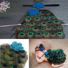 peacock headband aliexpress buy lovely newborn fashion boy girl kid peacock