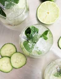 vodka tonic calories cucumber mint cocktail mixer all natural zero calorie be mixed