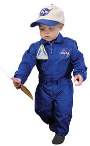 size 18 month halloween costumes amazon com aeromax jr nasa flight suit blue with embroidered