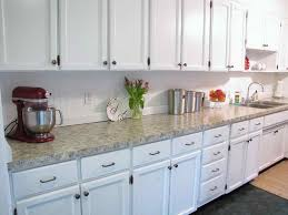 Wainscoting Backsplash Kitchen Kitchen Contemporary Kitchen Idea With Marble Countertop And
