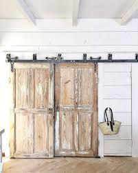 Barn Door Box Rail Plain Diy Bypass Barn Door Hardware Rolling Style D To Design Ideas