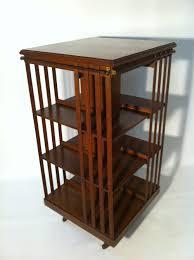Rotating Bookcases Large Oak Revolving Bookcase Antiques Atlas