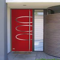 Modern Front Porch Decorating Ideas Fetching Image Of Front Porch Decoration Using Round Recessed