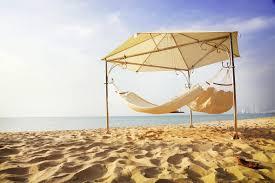 eternity luxury covered freestanding triple hammock