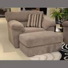Microfiber Armchair 4 Piece Taupe Sofa Love Seat Oversized Chair Ottoman Taupe Sofa