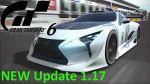 lexus lf lc play station gran turismo 6 hd new update 1 17 alpine vgt u0026 lexus lf lc gt