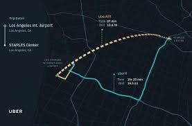 Map Of Los Angeles Airports Uber U0027s Flying Car Plan For Los Angeles Really Could Take Off By
