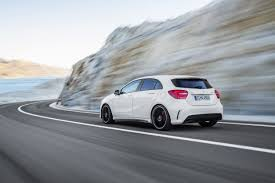 mercedes hatch amg the 2014 mercedes a45 amg is a breathing five door