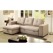Leather Sectional Sleeper Sofas Sleeper Sectional Sofas You Ll Wayfair