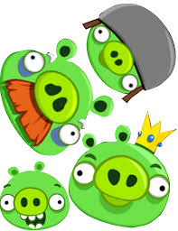 angry bird pig clipart 50