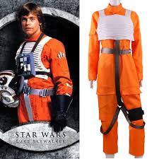 Luke Skywalker Halloween Costume Aliexpress Buy 2017 Movie Star Wars Force Awakens Luke