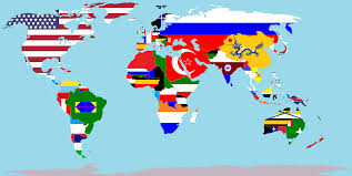 Flag Of The World World Map Flags Scrapsofme Me