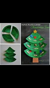 Christmas Crafts To Do With Toddlers - paper plate christmas trees all around the christmas tree
