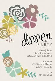 dinner party invitations dinner party invitation cloveranddot