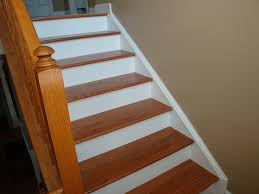 white oak replacement stair treads popular red oak stair treads