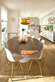 Modern Dining Room Sets For 8 Oval Dining Table And Chairs Extendable Oval Double Pedestal