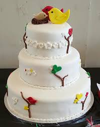 tear drop bird baby shower cake cakecentral com
