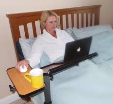 Laptop Desk Wheels by Height And Tilt Adjustable Laptop Table Laptop Desk Or Over Bed Table