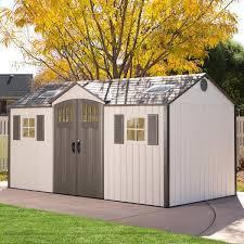 Backyard Storage House 20x20 Storage Shed Building Wayfair