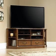 cherry corner media cabinet amazon com milled cherry corner media cabinet for tvs up to 50