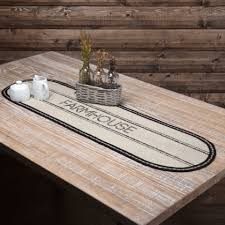 Farmhouse Table Runner Country Style Table Runners Retro Barn Country Linens