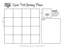 printable vegetable planner printable grid for square foot gardens many other great printables