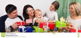 baby s birthday baby s birthday with big family stock photo image 82547102