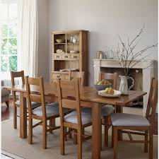 Rushmere Dining Set In Rustic Oak Extending Table  Chairs - Rustic oak kitchen table