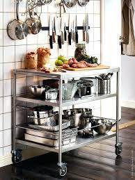 kitchen cart ideas ikea bekvam kitchen cart hack rolling metal home design ideas best