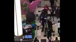 queens center mall thanksgiving hour watch easter bunny gets into brawl with shoppers at new jersey
