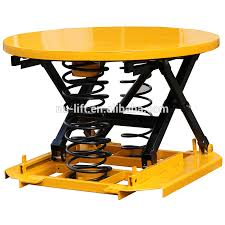 Pallet Lift Table by Spring Activated Lift Table Platform Pallet Leveller Buy