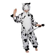 childrens black u0026amp white cow farm yard animal fancy dress up
