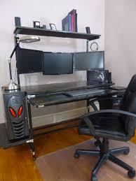 Atlantic Gaming Desk by Amazon Com Commander U0027s Console Desk Frame Black Pipes Black