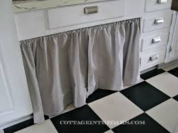 Material For Kitchen Cabinet Ready Made Curtains Using Curtains As Doors Cottage In The Oaks
