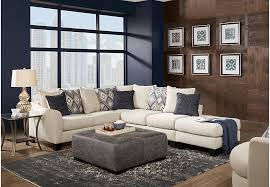 livingroom sectionals deca drive 4 pc sectional living room sectionals beige