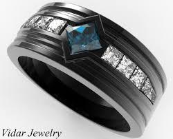 mens princess cut diamonds wedding ring vidar jewelry unique s black gold diamonds wedding ring vidar jewelry unique