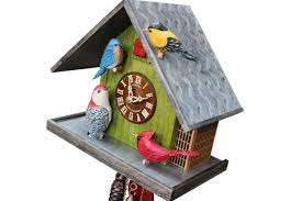 8 Day Cuckoo Clock The Limited Edition Hand Carved Backyard Birds Cuckoo Clock