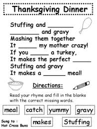 poems to familiar nursery rhymes literacy activities