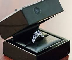 wedding ring in a box engagement ring box